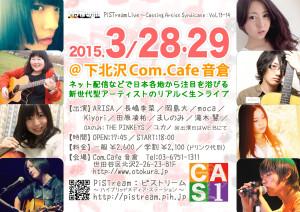 CAS live.13-14(150328-29)